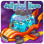 JellyDad Hero APK for Bluestacks