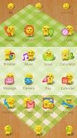 Screenshot of Dumpling guy GO Launcher Theme