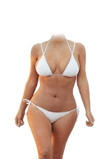 woman bikini wear - screenshot