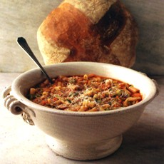 Minestrone with Macaroni