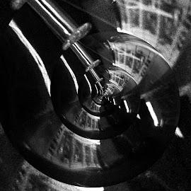 Bulb spiral by Prasanta Das - Digital Art Abstract ( abstract, bulb, image, spiral )