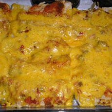 Very Easy Beef Enchiladas