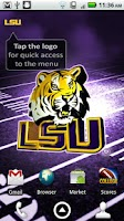 Screenshot of LSU Revolving Wallpaper