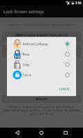Screenshot of Lock Screen