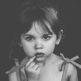 Mad by Stephanie Stafford - Babies & Children Child Portraits ( black and white, children )