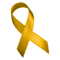 Awareness Ribbon - Yellow icon