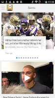 Screenshot of NOLA.com: Saints News