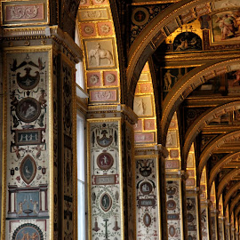Hermitage St Petersburg Russia by Eric Knight - Buildings & Architecture Architectural Detail