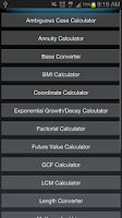 Screenshot of Calculator++