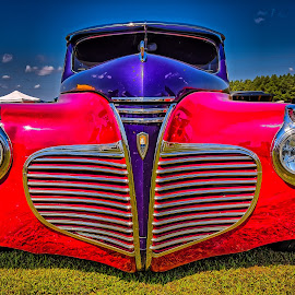Plymouth Grill by Ron Meyers - Transportation Automobiles