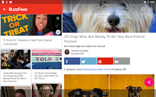 Screenshot of BuzzFeed