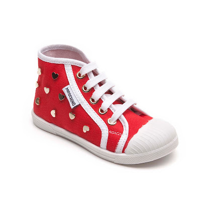 Moschino Heart High Top TRAINER