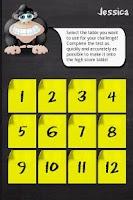 Screenshot of Monkey Math Pro Demo