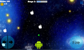 Screenshot of Apple Invaders