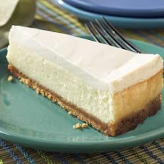 Sour Cream-Topped Cheesecake