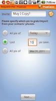 Screenshot of PixeGrab: Grab Pics From Phone