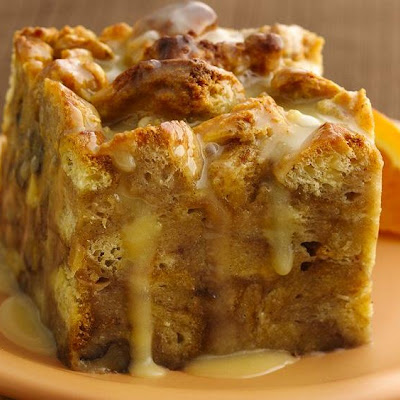 Orange-Kissed Breakfast Bread Pudding