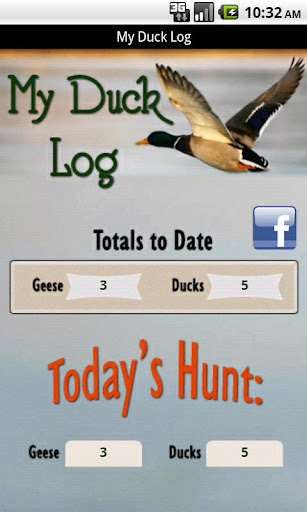 My Duck Log
