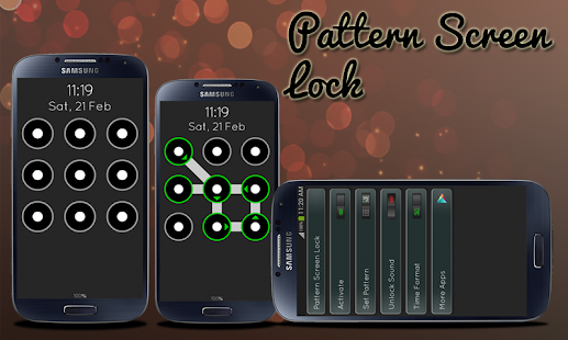 Pattern Screen Lock - screenshot