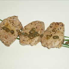 Pork Medallions With Lemon and Capers