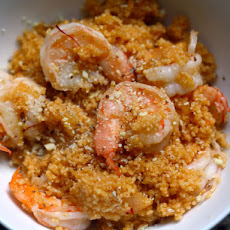 Michael Lomonaco's Sicilian Shrimp and Couscous