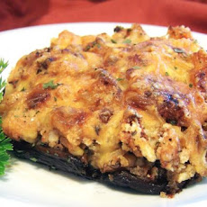 Shrimp Stuffed Portabella Mushrooms