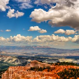 Brice 2 by Darren Sutherland - Landscapes Cloud Formations ( bryce canyon, trip 2014 )