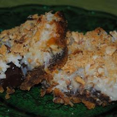 Chocolate Walnut Coconut Bars
