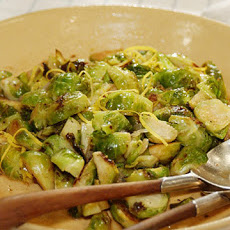 Brussels Sprouts with Warm Lemon Vinaigrette