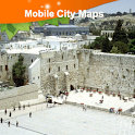 Jerusalem Street Map icon