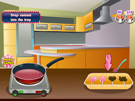 Screenshot of dazzling candy girls games