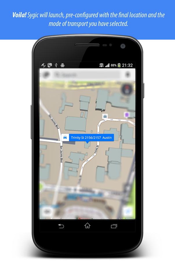 GPS Bridge - fast place finder Screenshot 3
