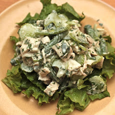 Chicken Salad with Tahini-Yogurt Dressing