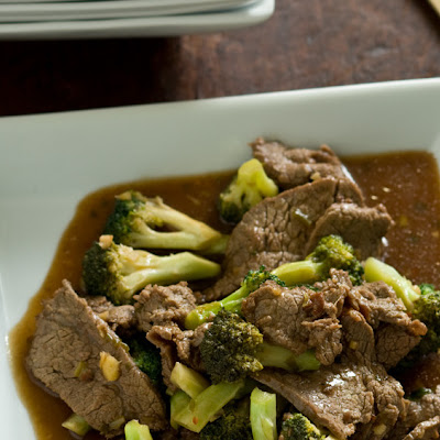 Spicy Broccoli with Beef