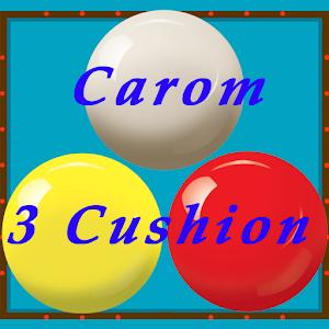 Cover art Carom 3 Cushion (Billiard)