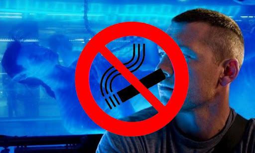 停止吸煙的視頻播放器