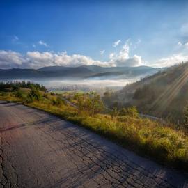 Mountain village of Mrkopalj by Stanislav Horacek - Landscapes Mountains & Hills