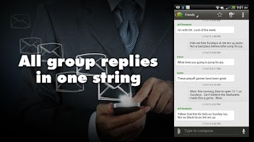 Screenshot of Group Texting + Text Messaging