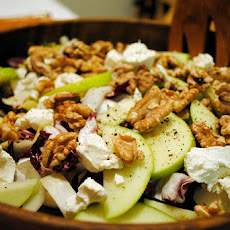Apple Walnut Salad with Stilton Cheese