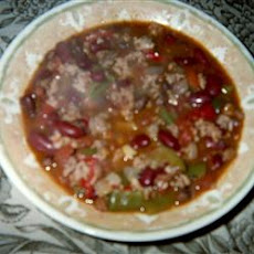 Delilah's Wicked Twelve Alarm Chili