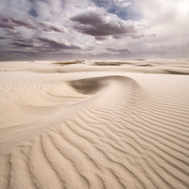 Desert Sea Shell  by Michael Keel - Landscapes Deserts ( white desert, gypsum, white sands new mexico, new mexico )