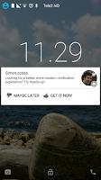 Screenshot of Heads-up Notifications