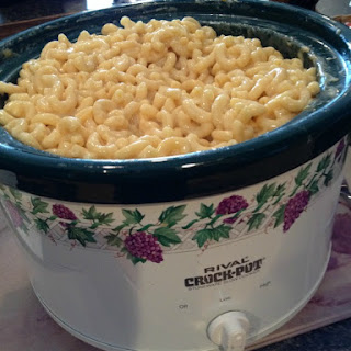 Slow Cooker Easy Macaroni & Cheese