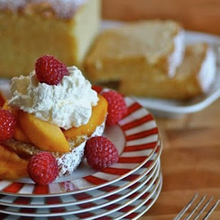 Vanilla Loaf Cake with Fresh Summer Fruit