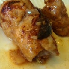 Easy Fontina Sage Chicken or Pork Tenderloin Rolls with Shallot Marsala Sauce