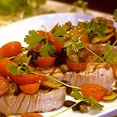 Grilled Tuna Steaks 'a la Niçoise'