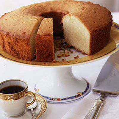 Yellow Vanilla Pound Cake