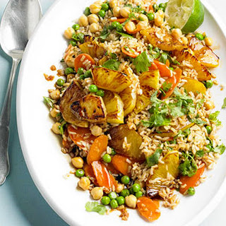 Asian-Style Fried Rice and Beans