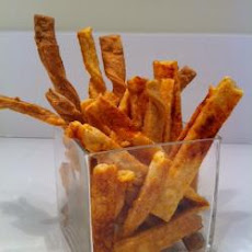 Light And Crunchy Cheese Straws