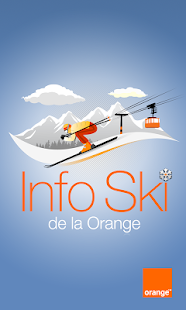 Info Ski de la Orange - screenshot